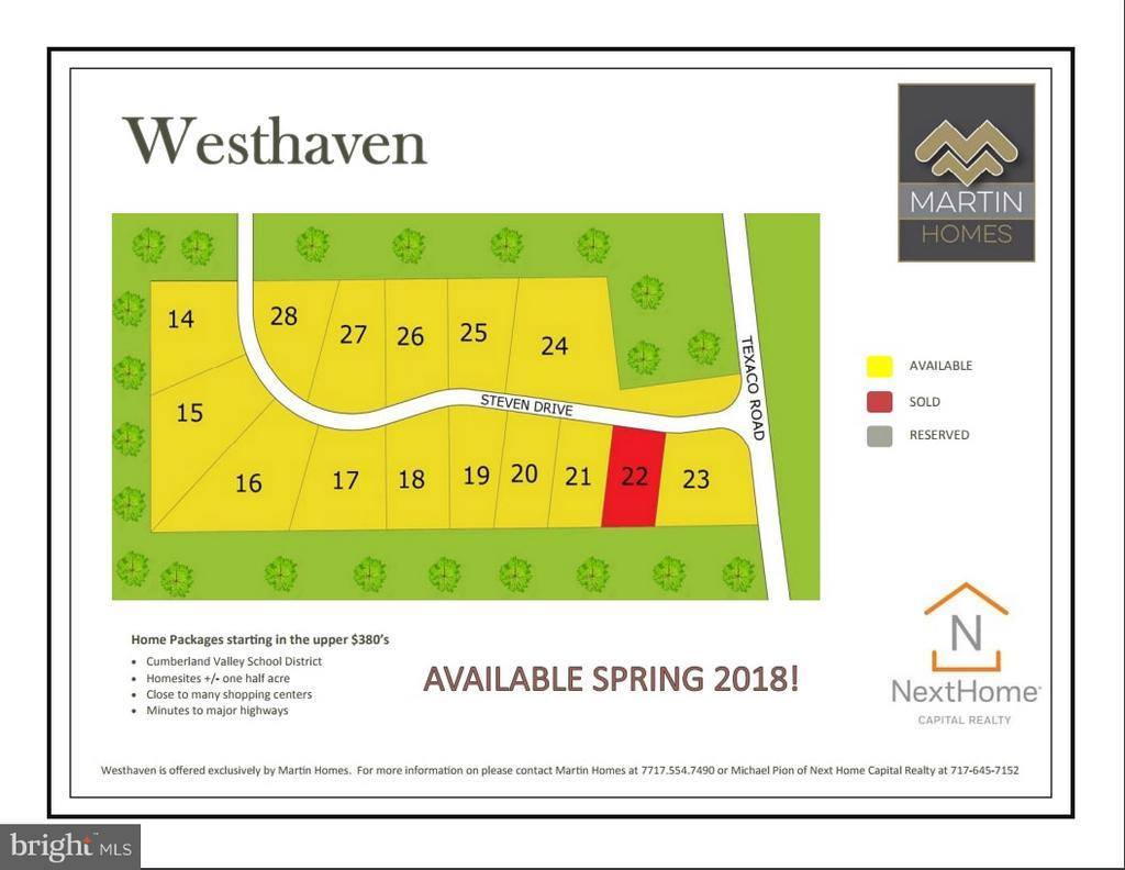 Lot 17 Westhaven, Mechanicsburg, PA 17050