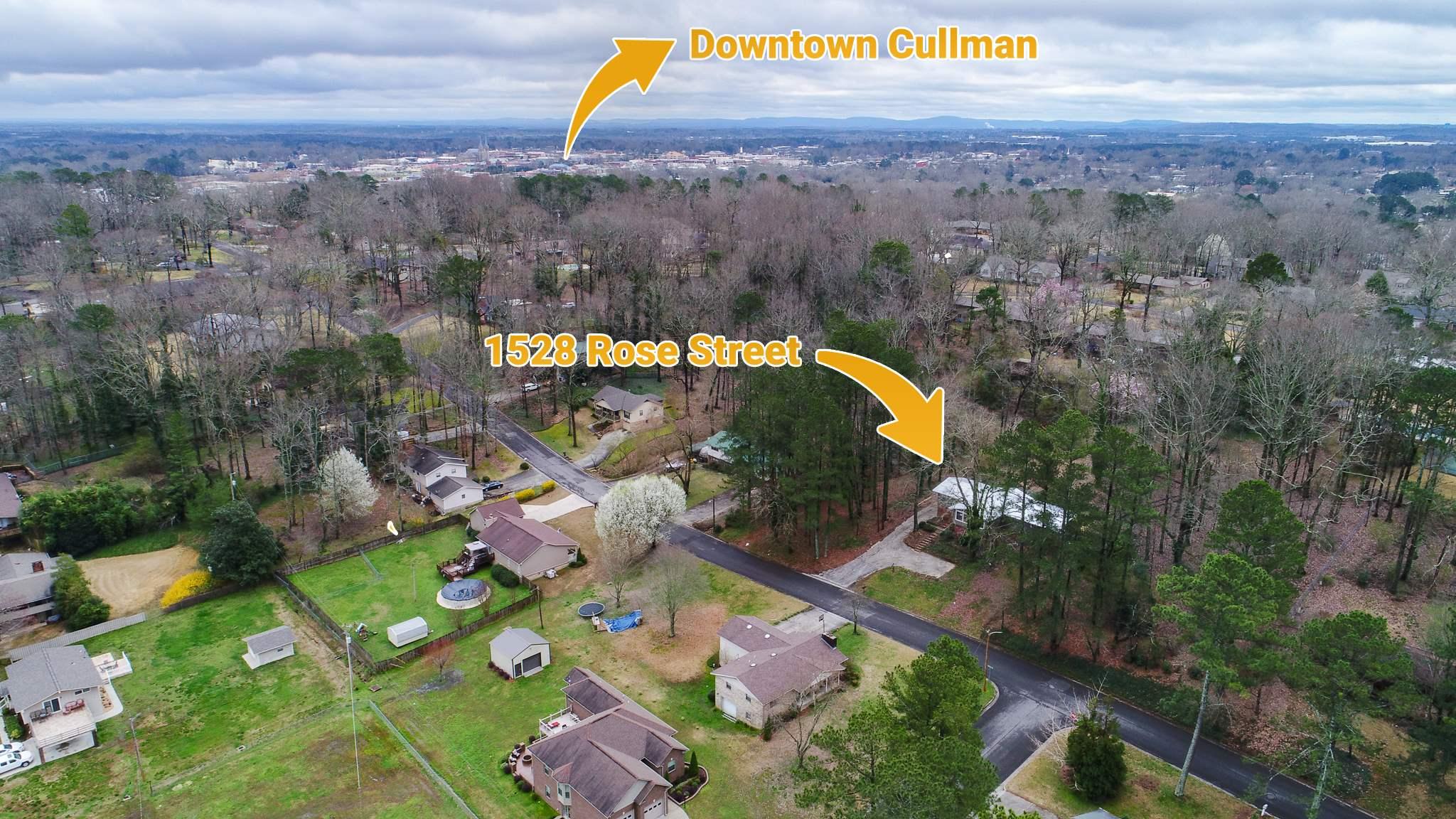 1528 Rose Street, NW, Cullman, AL 35055