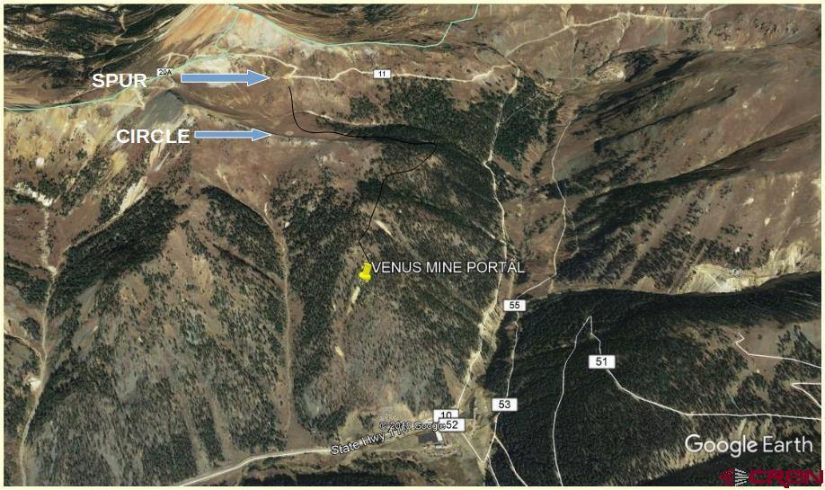 5 Eureka Mining District, Silverton, CO 81433