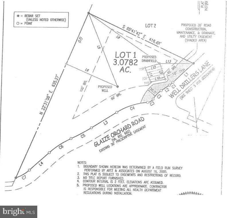 Lot 1 Well Drillers Lane, Winchester, VA 22603