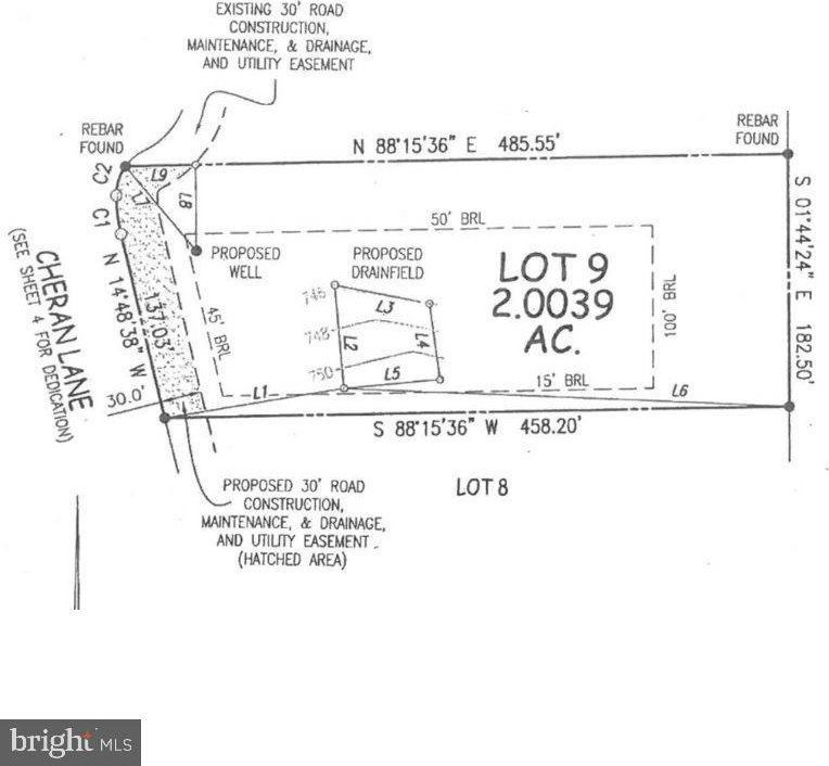Lot 7, 8, 9 Cheran Lane, Winchester, VA 22603