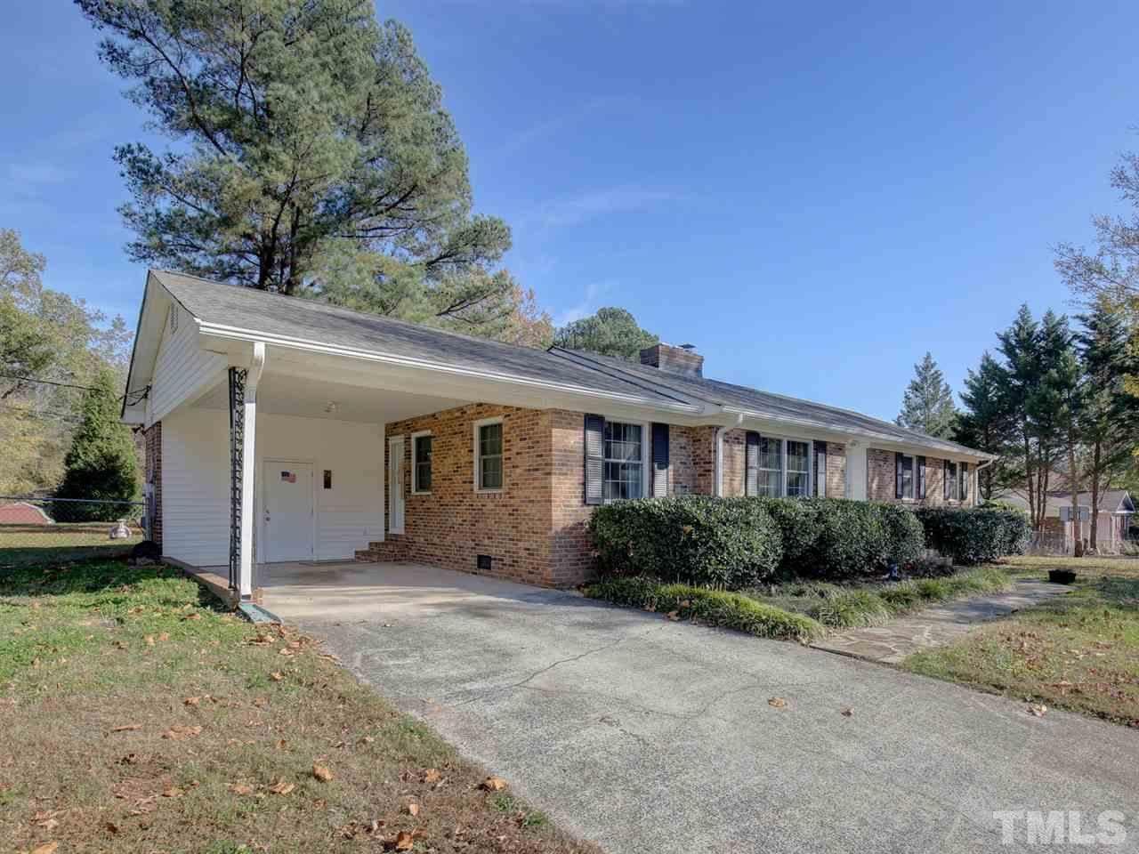 327 Olive Branch Road, Durham, NC 27703