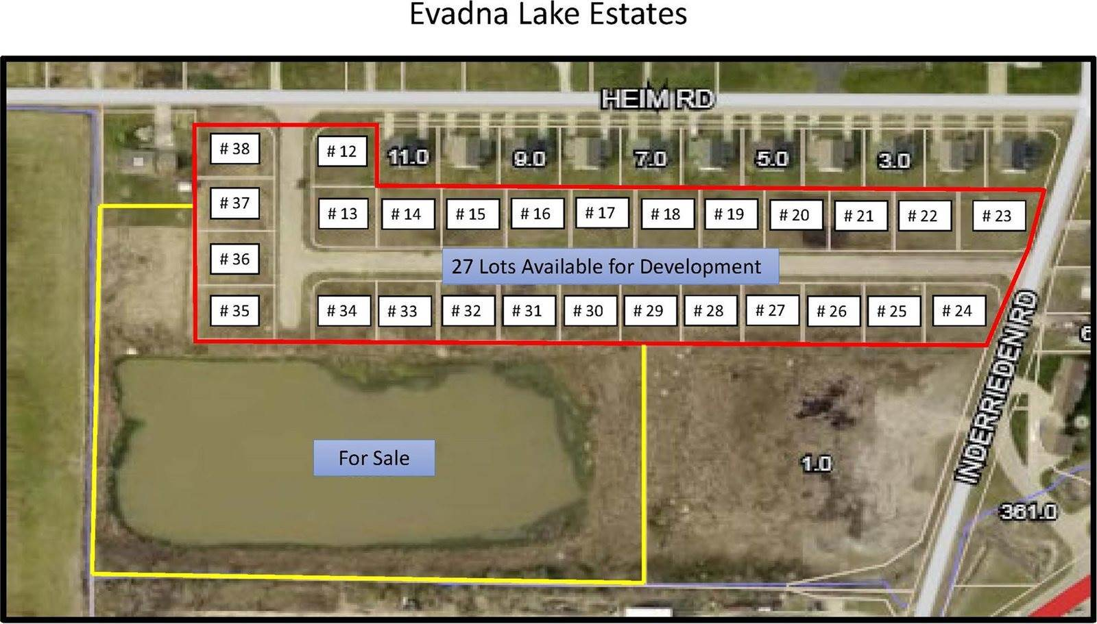 102 (Lot 37) Evadna Drive, Boonville, IN 47610