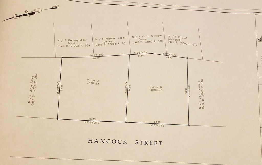 Hancock St, Springfield, MA 01105