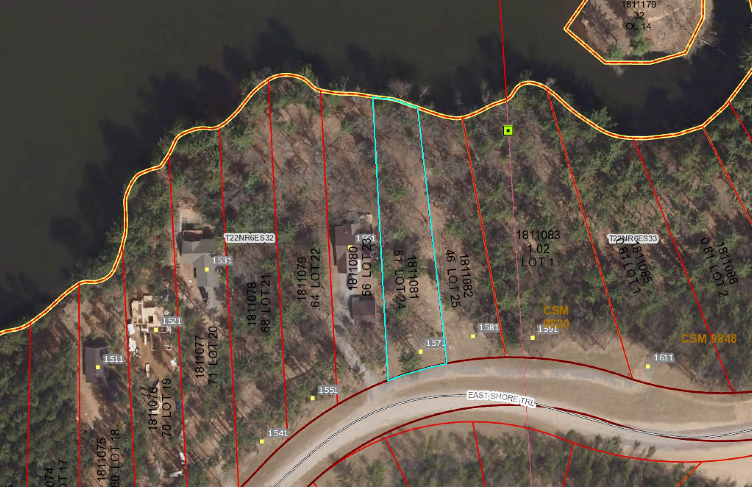Lot 24 EAST SHORE TRAIL, Wisconsin Rapids, WI 54494