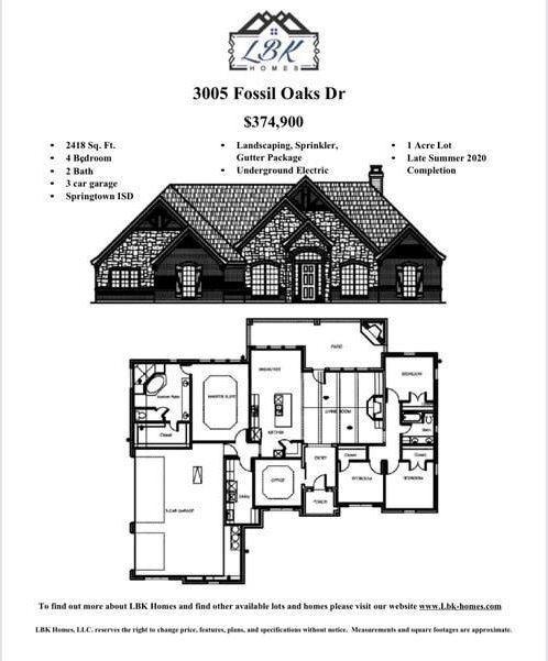 3005 Fossil Oaks Drive, Azle, TX 76020