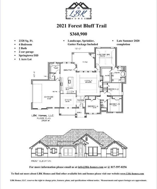 2021 Forest Bluff Trail, Azle, TX 76020