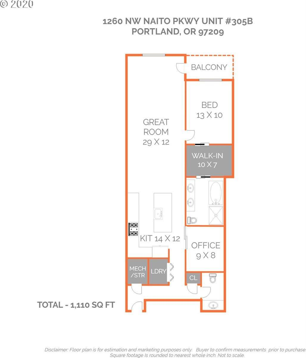 1260 NW Naito Pkwy, #305B, Portland, OR 97209