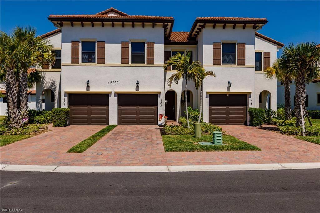 15755 Portofino Springs Boulevard, #102, Fort Myers, FL 33908
