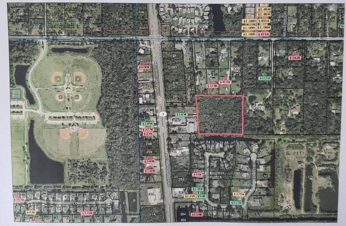 N Courtenay PKWY, Merritt Island, FL 32953