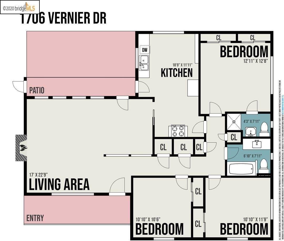1706 Vernier Dr, Concord, CA 94519