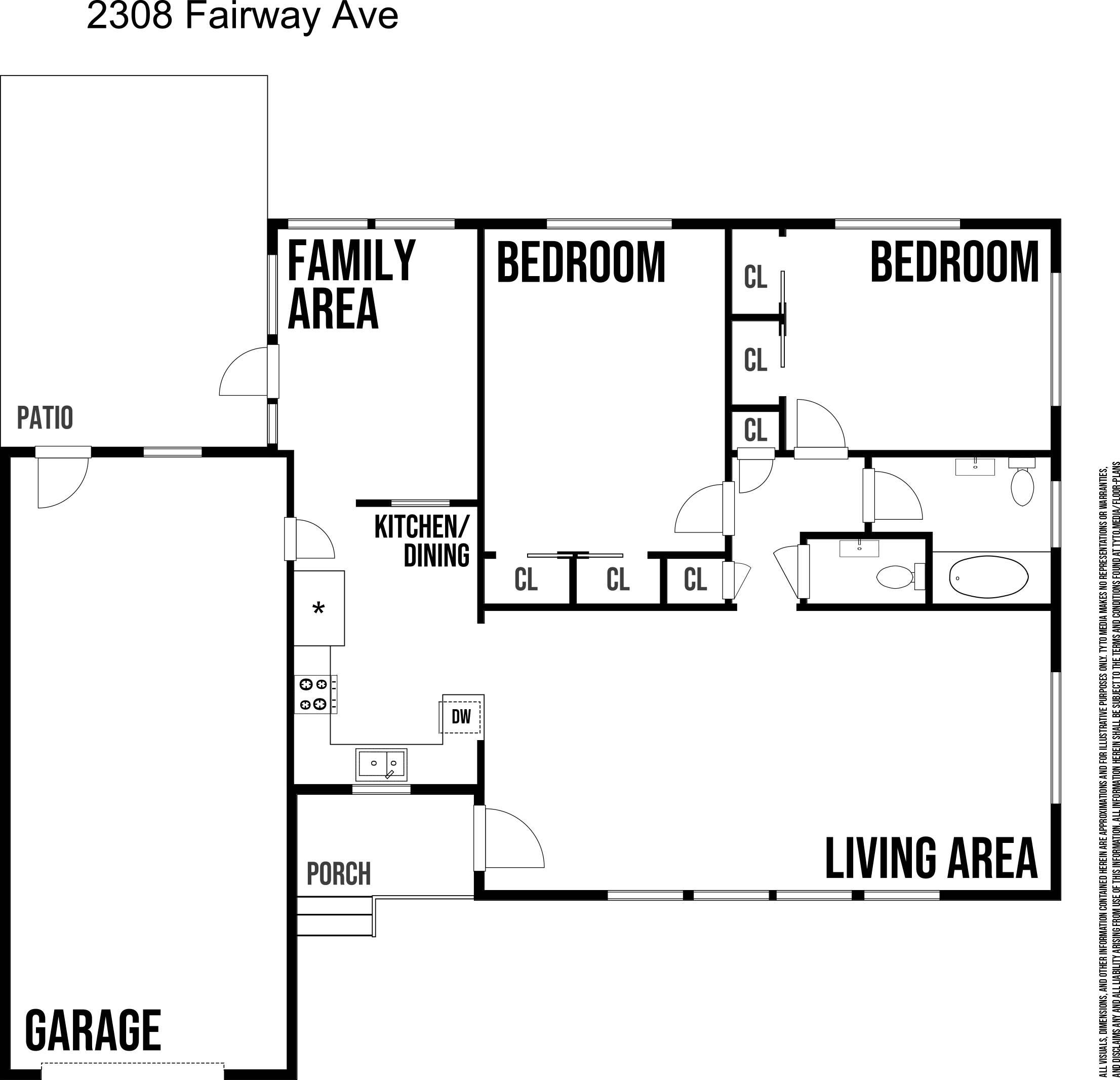 2308 Fairway Avenue S, St Petersburg, FL 33712