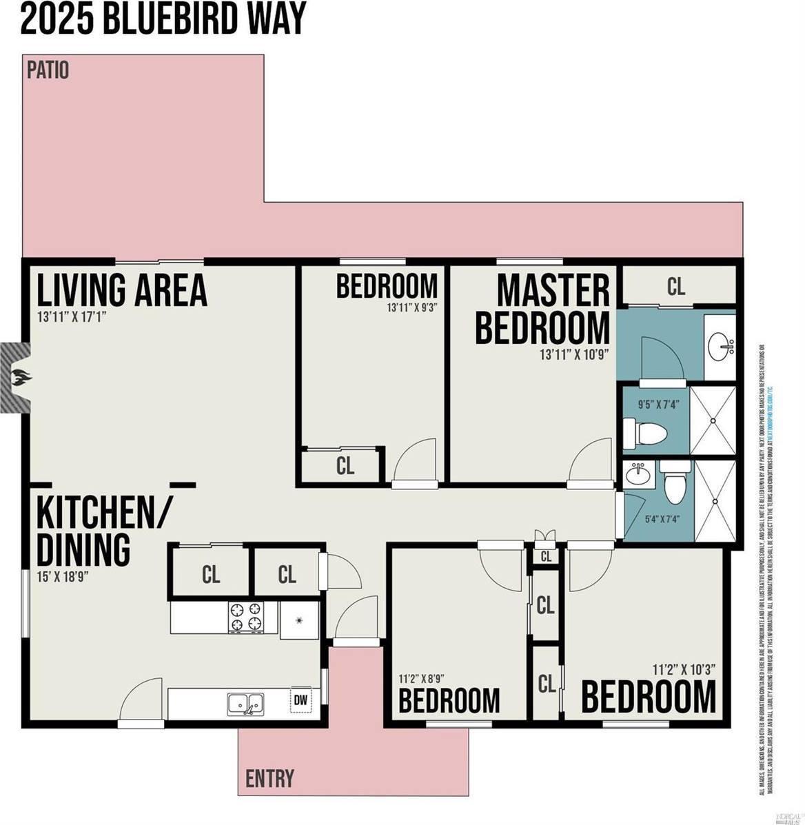 2025 Bluebird Way, Fairfield, CA 94533