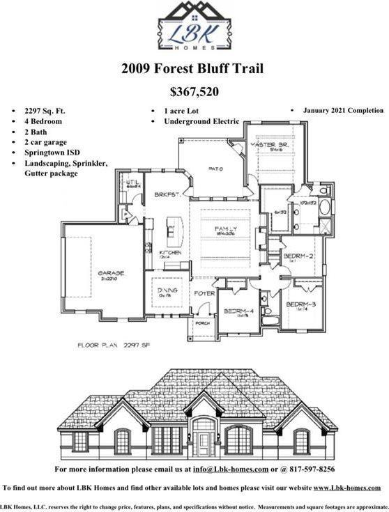 2009 Forest Bluff Trail, Azle, TX 76020