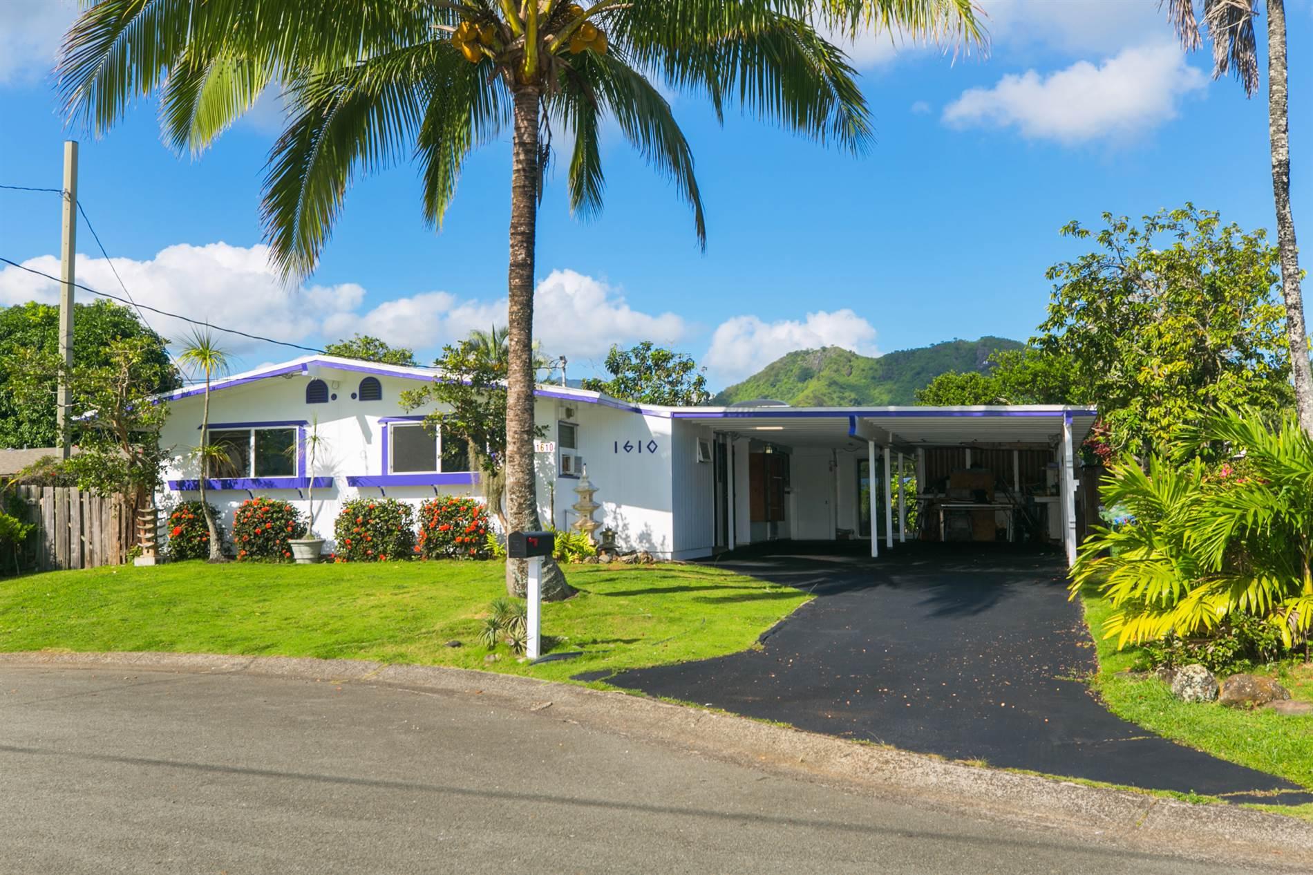 1610 Ulualana Place, Kailua, HI 96734