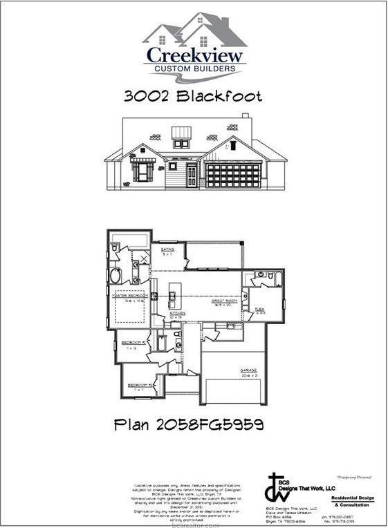 3002 Blackfoot Court, Bryan, TX 77808