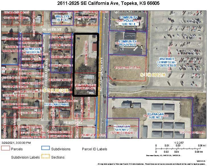 2611 SE California Ave, #2623 & 2625 SE California Ave, Topeka, KS 66605