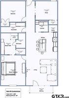 TBD High Hill Drive, Unit #3, Arp, TX 75750