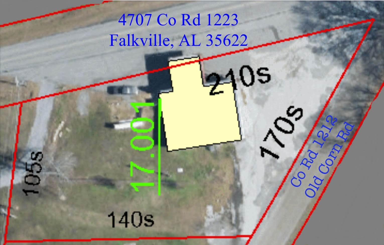 4707 CO RD 1223, Falkville, AL 35622