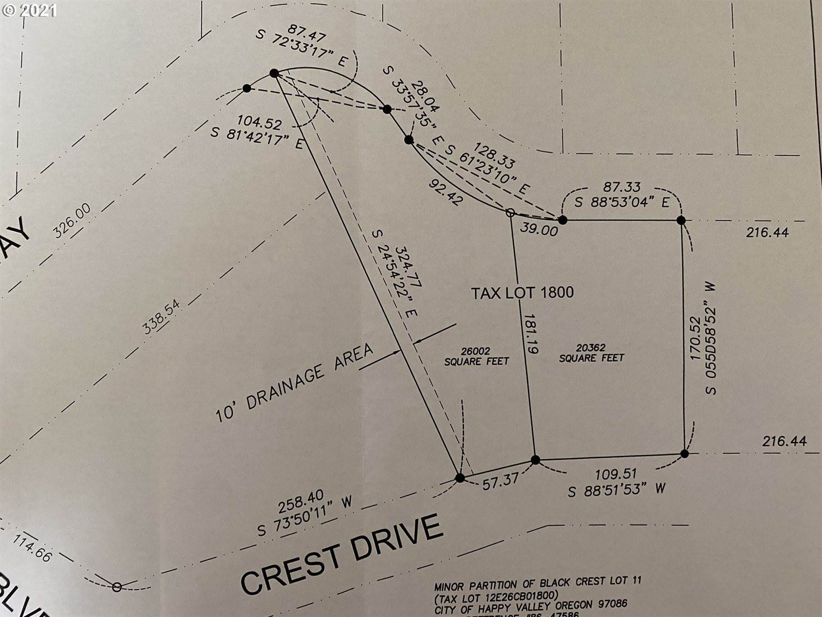 0 Crest Way, Happy Valley, OR 97086