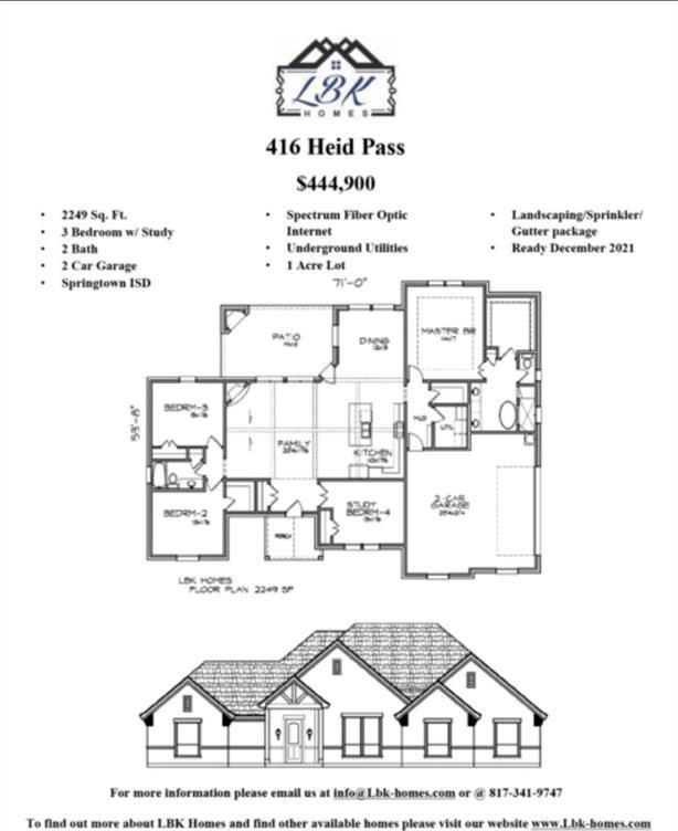 416 Heid Pass, Springtown, TX 76082